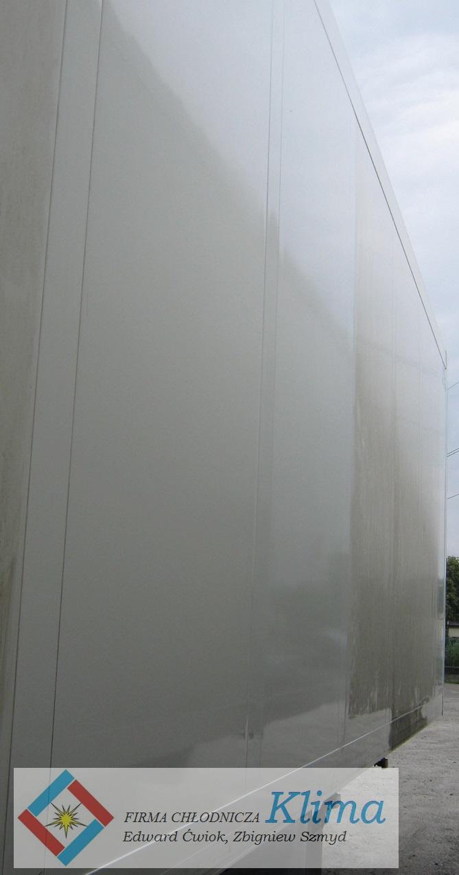 Poszycie ściany bocznej po remoncie